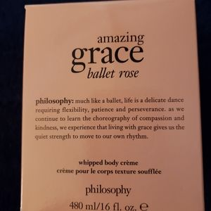 AMAZING Grace- Ballet Rose Whipped body cream